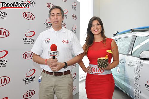 Sub Gerente de Marketing de KIA Peru Omar Afa
