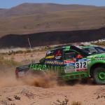 Team peruano Alta Ruta 4x4 concluyó la novena etapa del Rally Dakar 2016 ycontinúa a paso firme en carrera