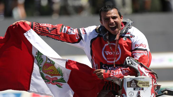 Alexis Hernández hace historia para Perú en el Rally Dakar tras culminar en el 8vo puesto de la general con dos etapas ganadas