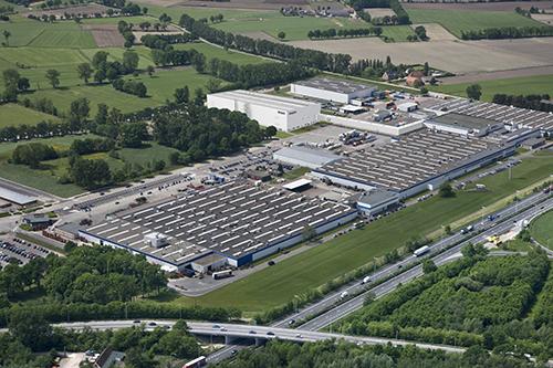 Belgi', Oevel, DAF fabriek