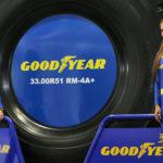Goodyear presentó neumáticos para rentabilizar la industria en EXPOMINA 2016