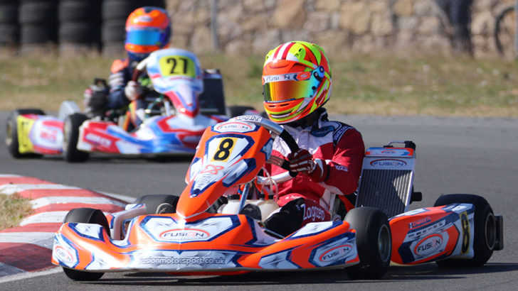 Kartista Matías Zagazeta se ubicó entre los 10 mejores pilotos de la 1ra fecha del SKUSA Pro Tour de Estados Unidos