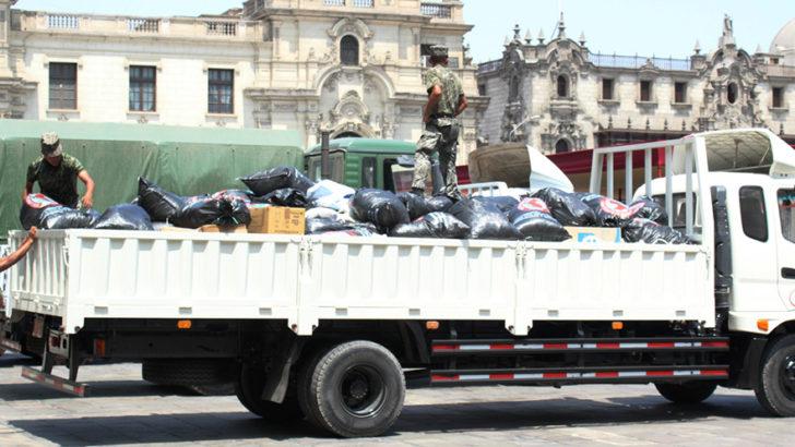 #UnaSolaFuerza: INCAPOWER TRANSPORTÓ MÁS DE 12 TONELADAS DE AYUDA PARA DAMINIFICADOS DEL NORTE PERUANO