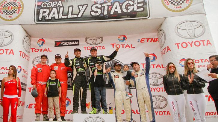 Ian Sierlecki gana la Copa Rally Stage 2017