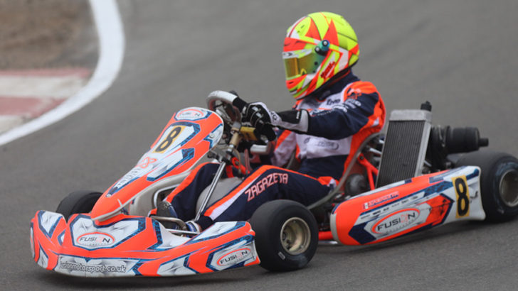 Gran debut y podio: 2do puesto para Matías Zagazeta en la máxima categoría Senior A del Campeonato Nacional de Kartismo 2017